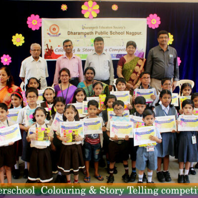 Interschool Colouring & Story telling competition